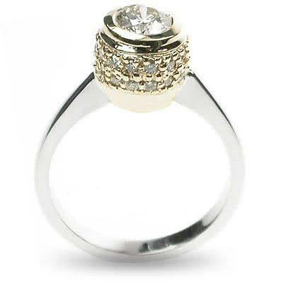0.75-1.90 CT Round Cut Diamonds - Solitaire Ring