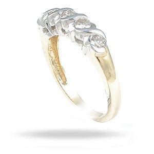 0.50 CT Round Cut Diamonds - Wedding Band