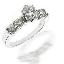 Load image into Gallery viewer, 0.95-2.10 CT Round Cut Diamonds - Engagement Ring