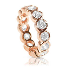 Load image into Gallery viewer, 3.10 CT Round Cut Diamonds - Eternity Ring