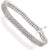 4.10-8.00 CT Round Cut Diamonds - Diamond Bracelet
