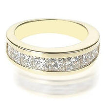 Load image into Gallery viewer, 2.60 CT Princess Cut Diamonds - Wedding Band