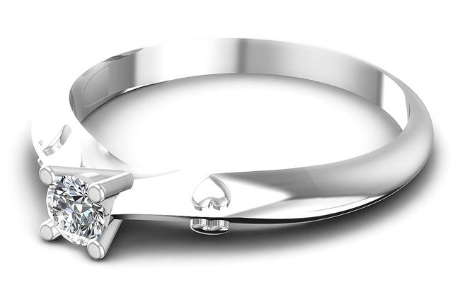 diamond solitaire ring