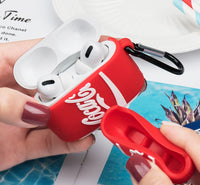 Coca Cola Style Protective Case for Apple AirPods Pro ONLY