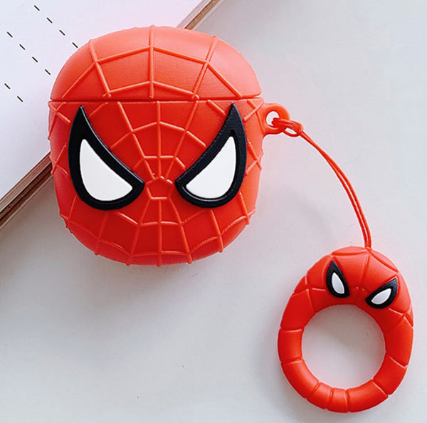 Spiderman Style Cute Protective Case for Apple AirPods