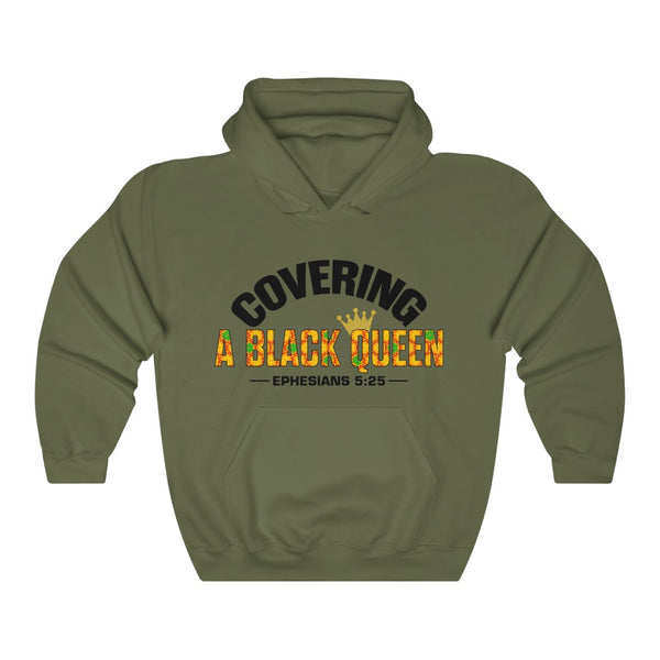 Covering A Black Queen Hoodie