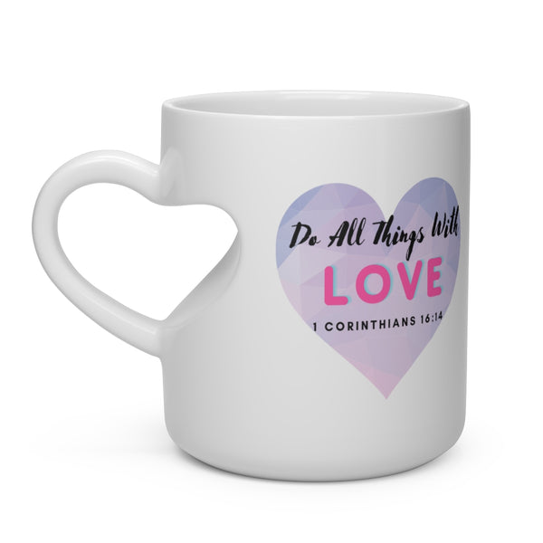 Pink/Purple All Love Mug