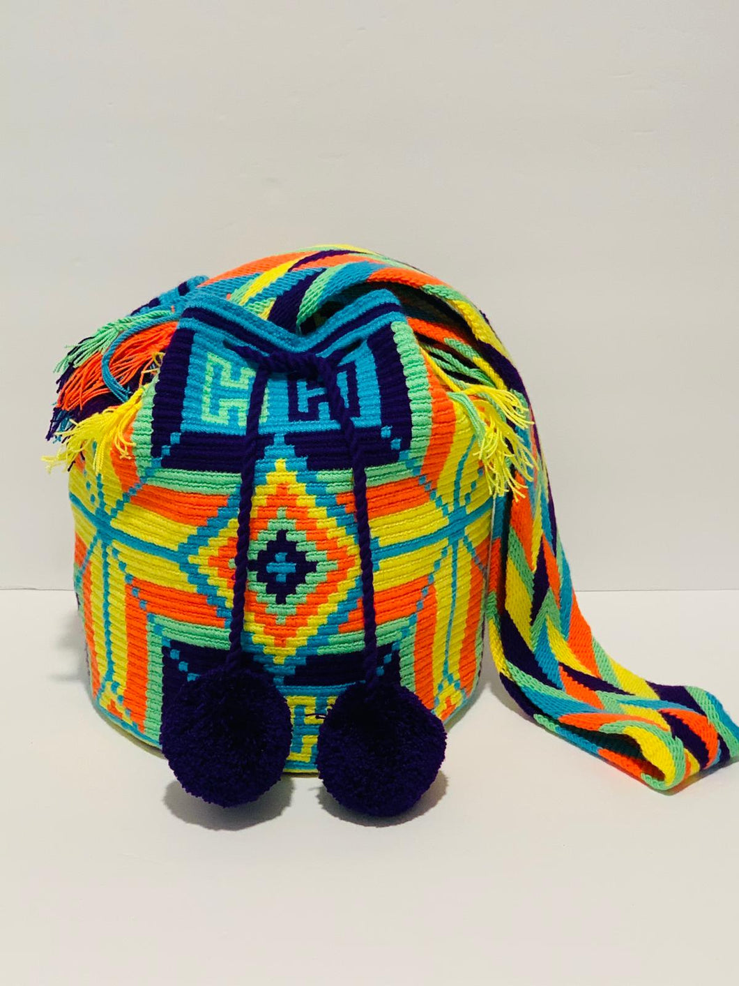 Patterned Wayuu Bag
