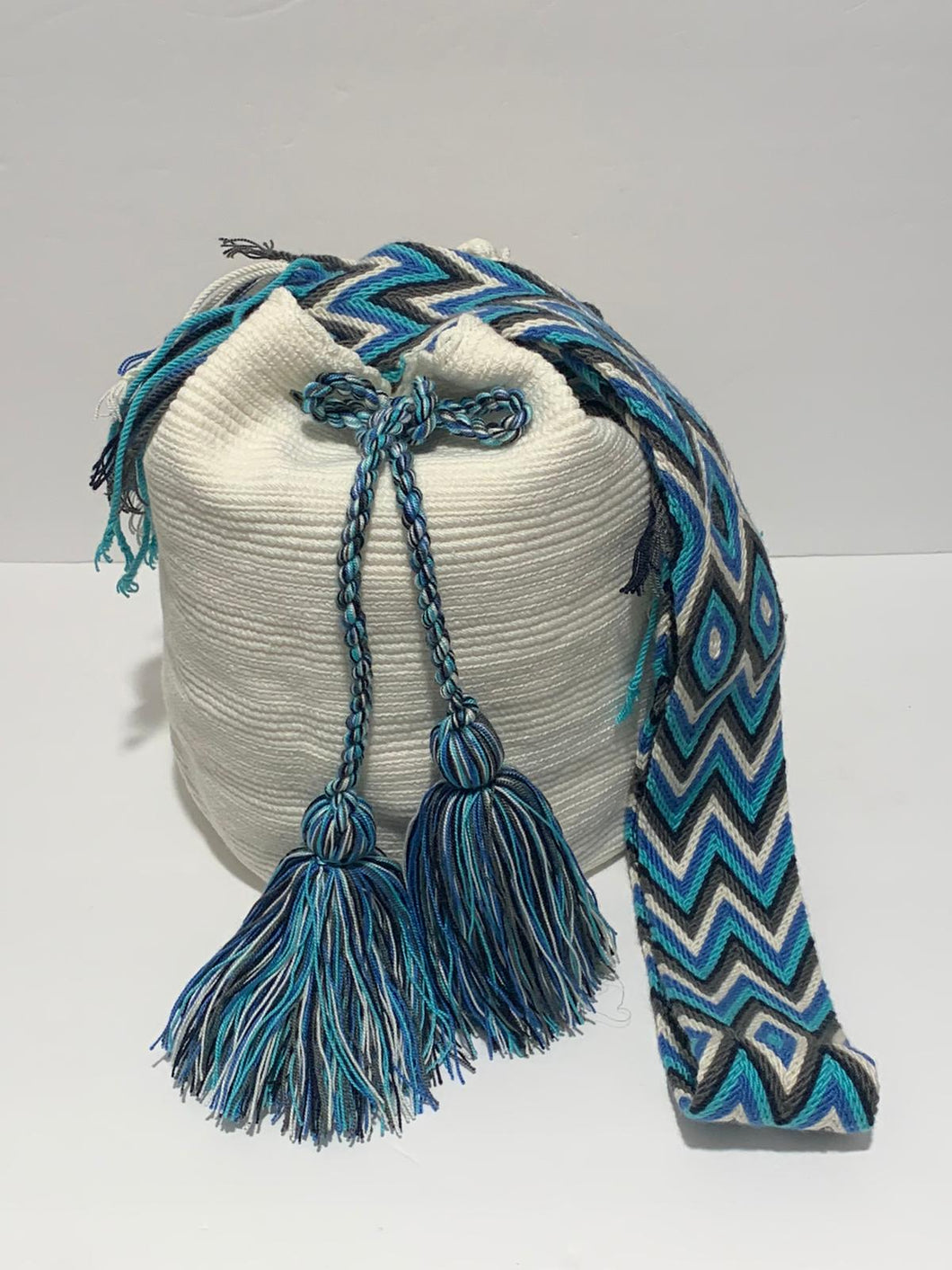 Unicolor Wayuu Bag