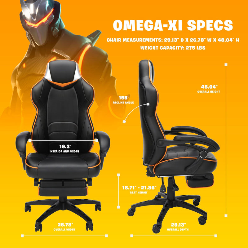Fortnite Gaming Chair - Size chart