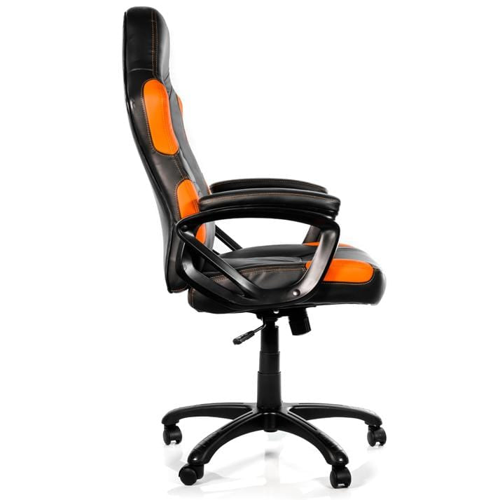 Arozzi Enzo Orange - Padded Armrests
