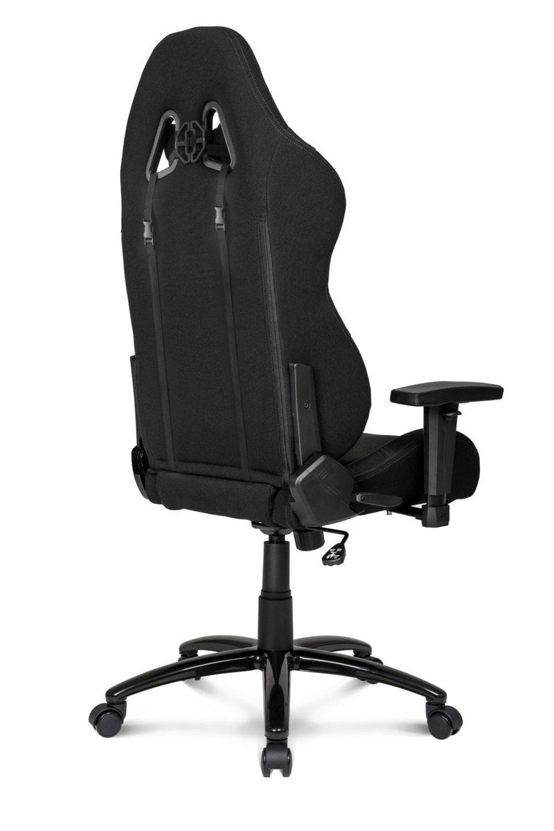 AKRacing EX Black - Back Angle