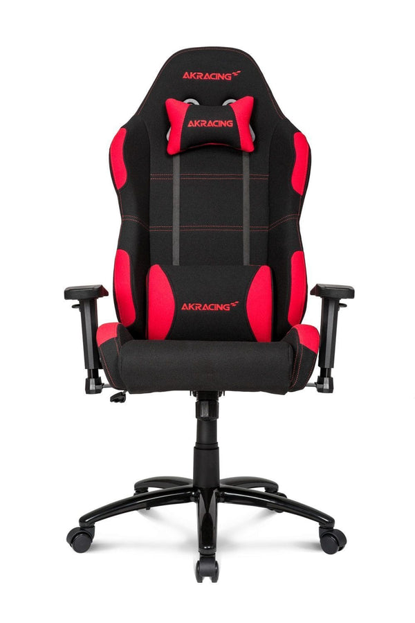 AKRacing EX Black/Red - Front
