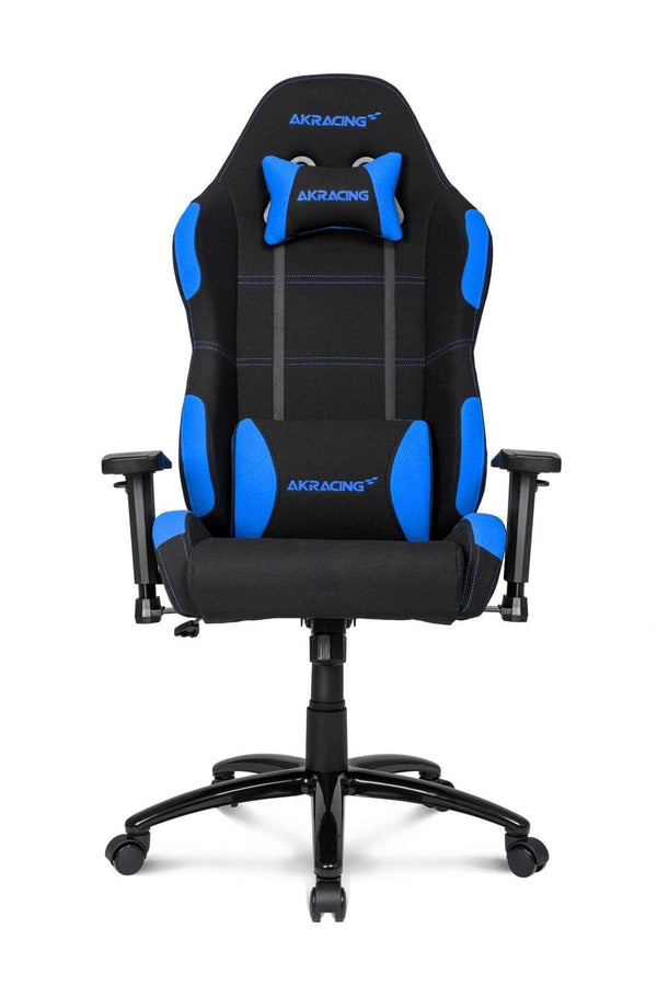 AKRacing EX Black/Blue - Front