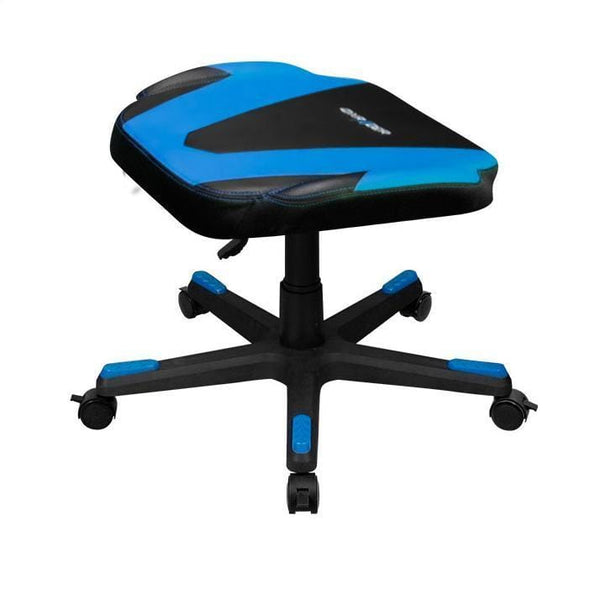 DXRacer Footrest Blue - Side