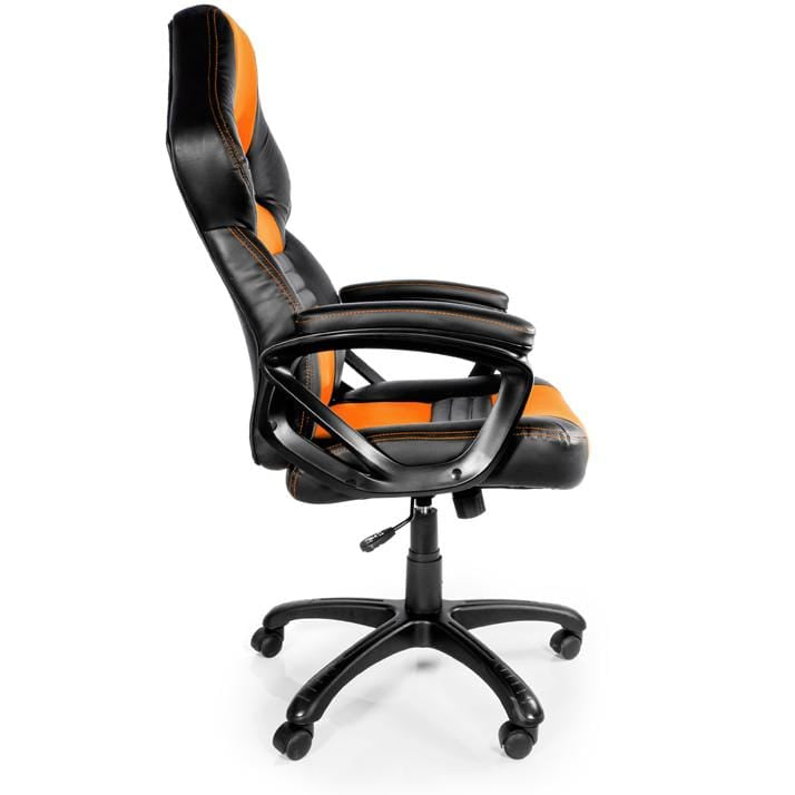 Arozzi Monza Orange - Padded Armrests