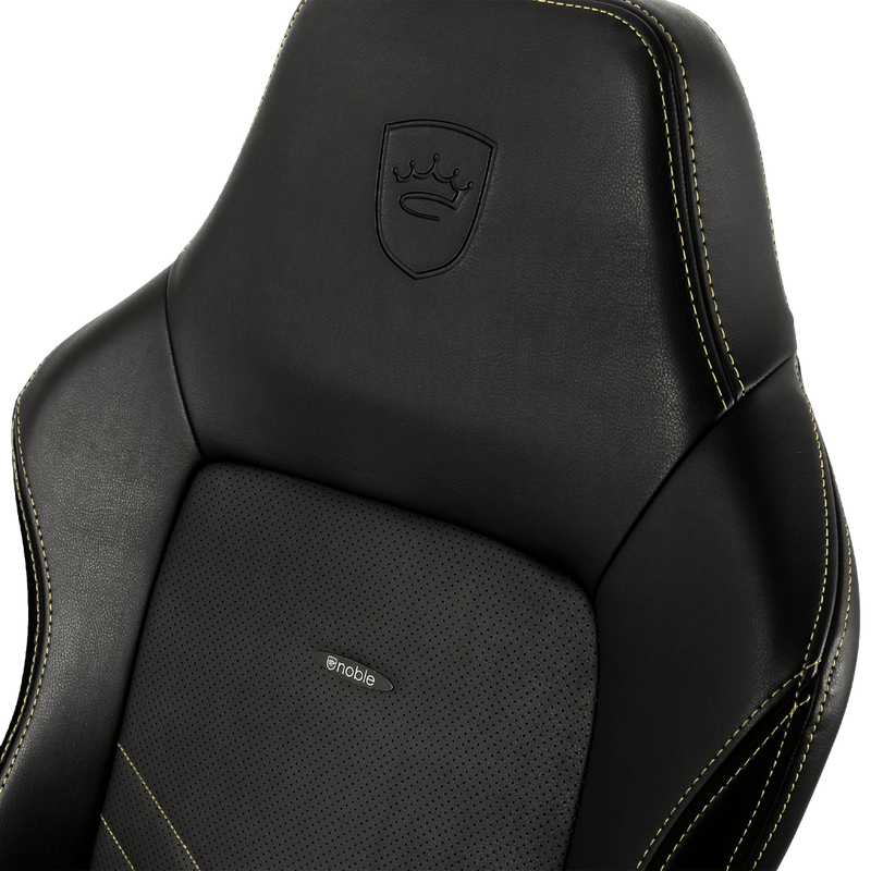 Noblechairs HERO Gold - Logo