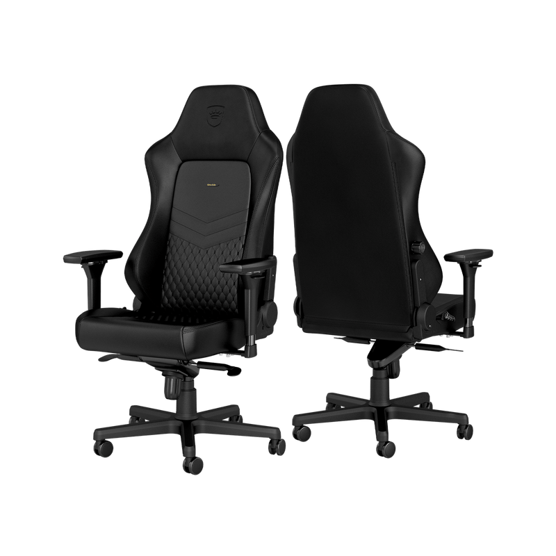 Noblechairs HERO Leather Black - Back
