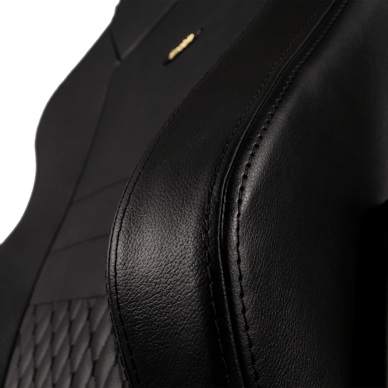 Noblechairs HERO Leather Black - Wing