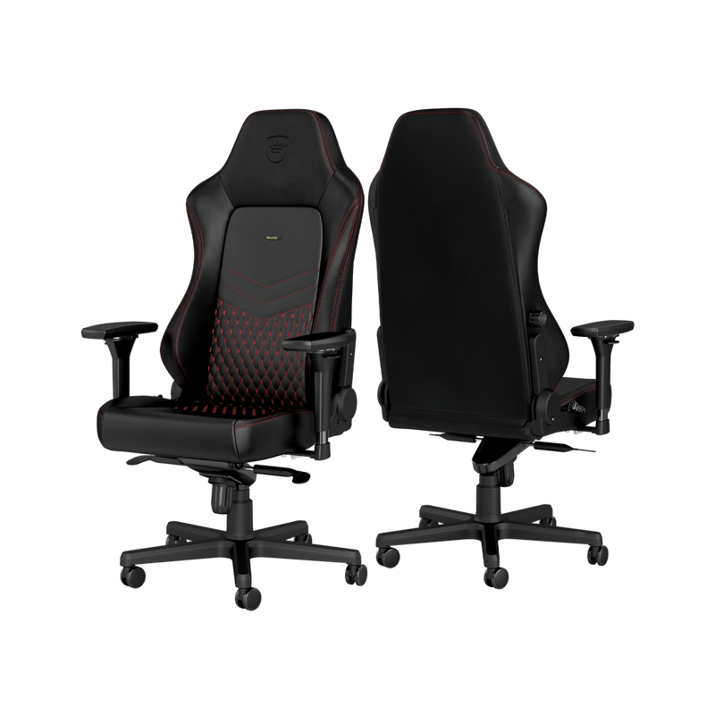 Noblechairs HERO Leather Red - Back