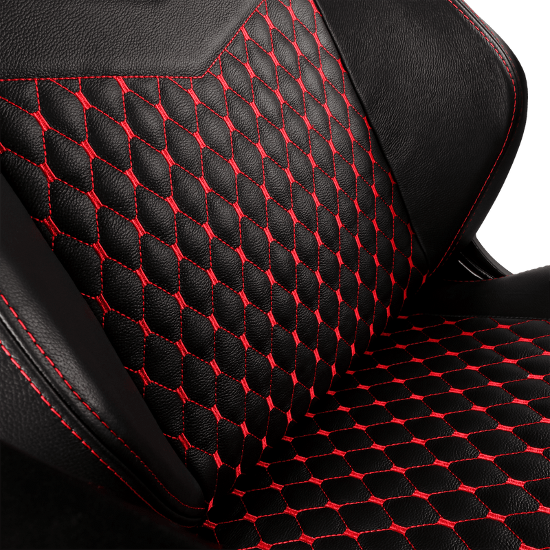 Noblechairs HERO Leather Red - Backseat