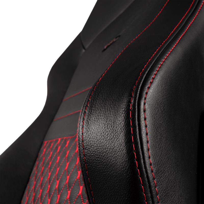 Noblechairs HERO Leather Red - Wings