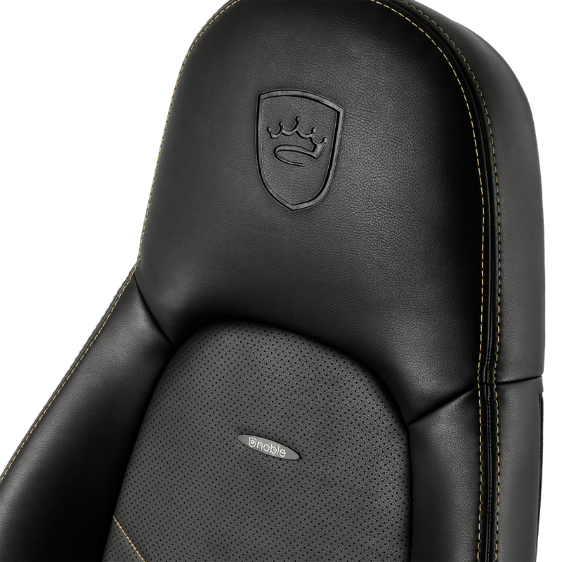 Noblechairs ICON Gold - Logo