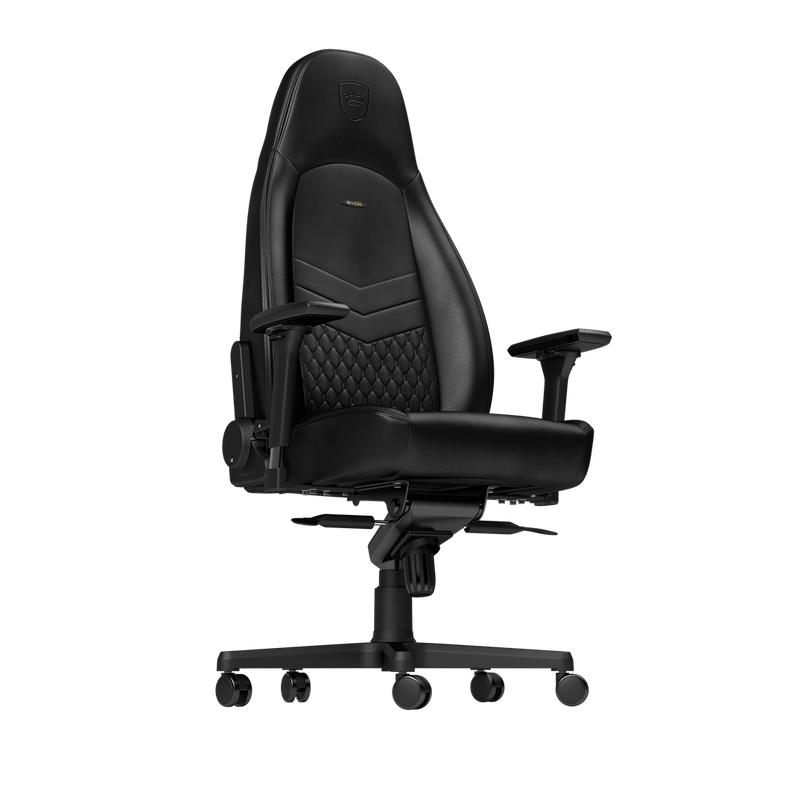 Noblechairs ICON Leather Black - Front