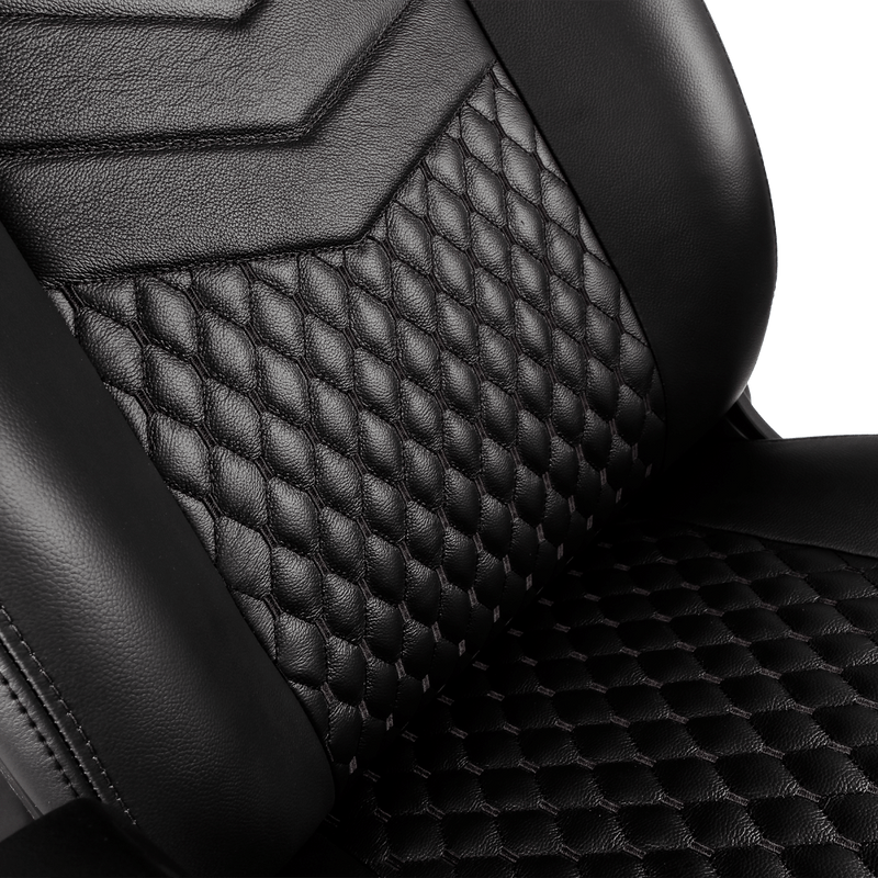 Noblechairs ICON Leather Black - Backseat