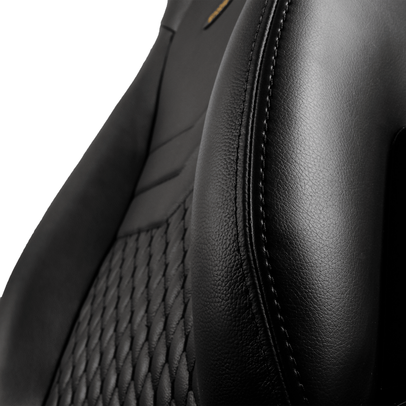 Noblechairs ICON Leather Black - Wings