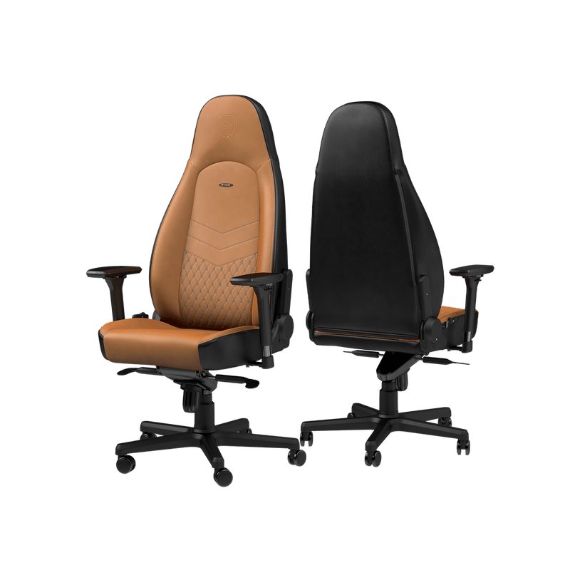 Noblechairs ICON Leather Cognac - Back