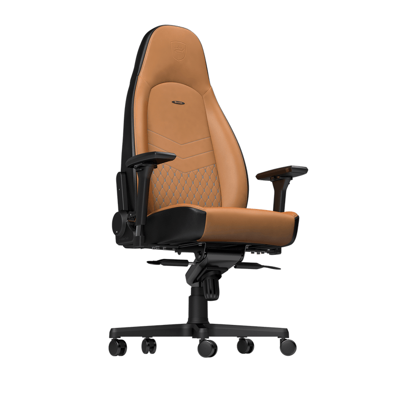 Noblechairs ICON Leather Cognac - Front