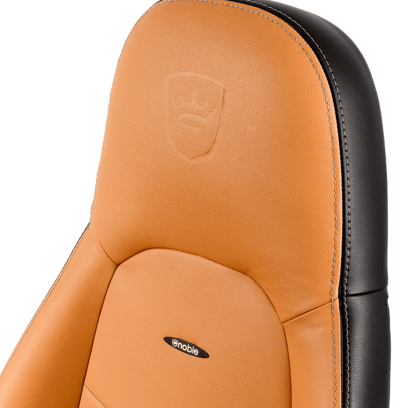 Noblechairs ICON Leather Cognac - Logo