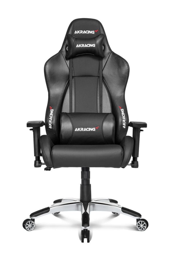 AKRacing Premium Carbon Black - Front