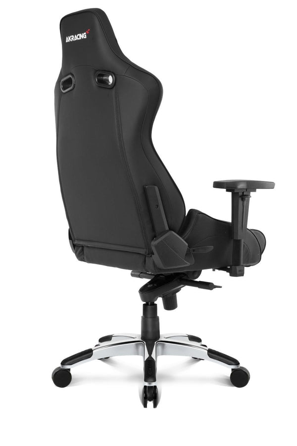 AKRacing Pro Black - Back Angle