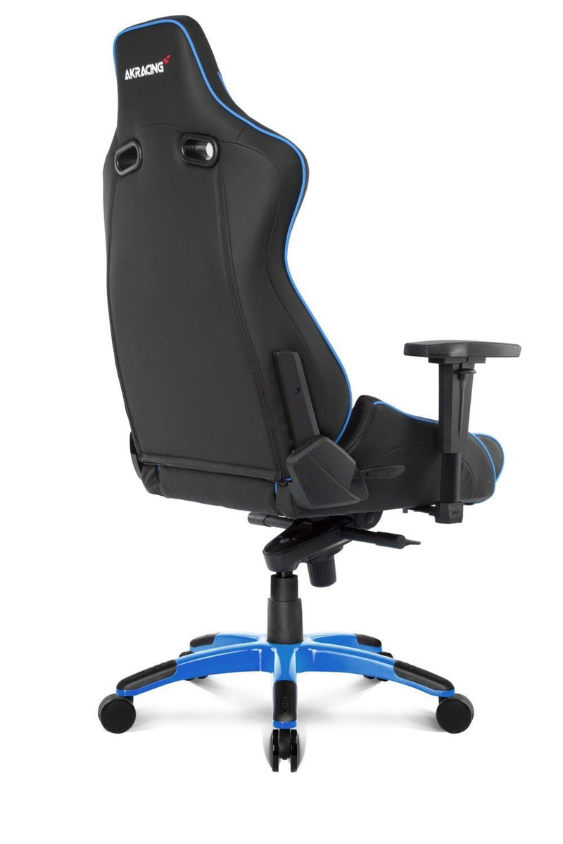 AKRacing Pro Blue - Back Angle
