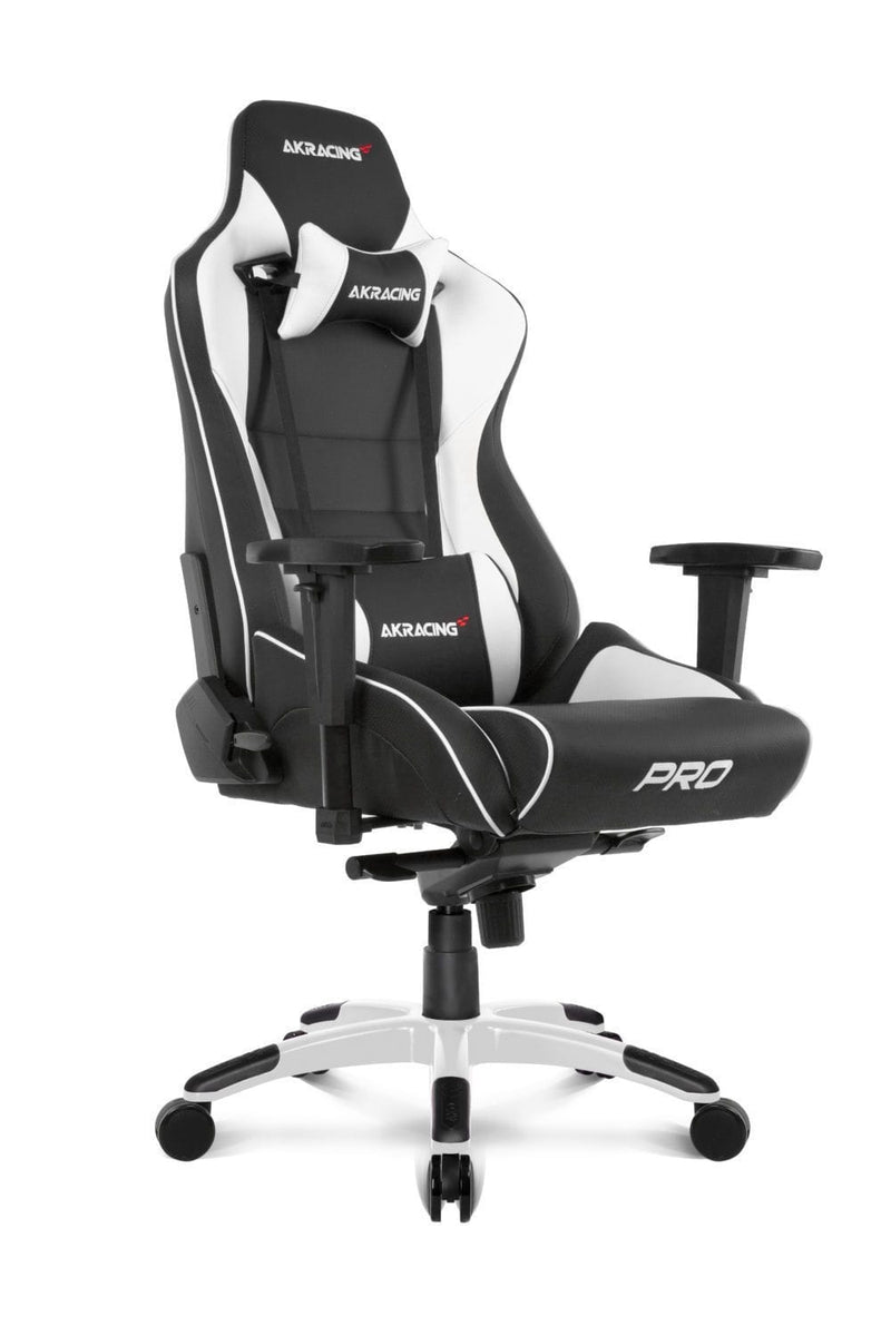 AKRacing Pro White - Side Angle