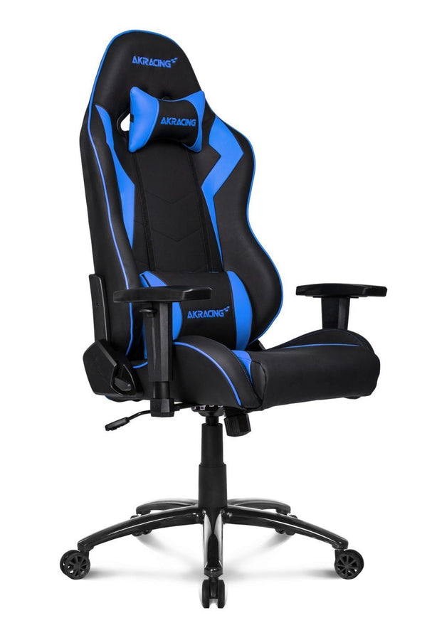 AKRacing SX Blue - Side Angle