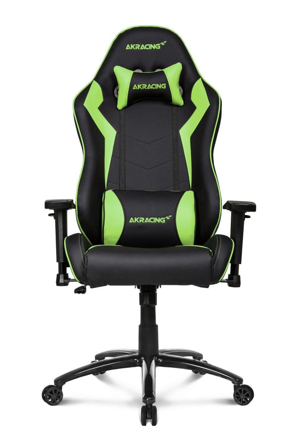 AKRacing SX Green - Front