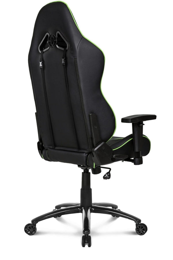 AKRacing SX Green - Back Angle
