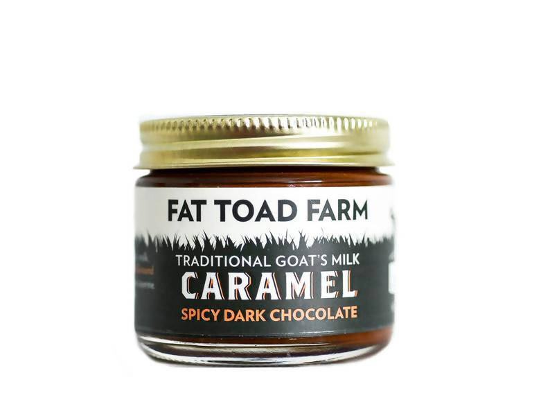 Spicy Dark Chocolate Goat's Milk Caramel - 12 x 2oz