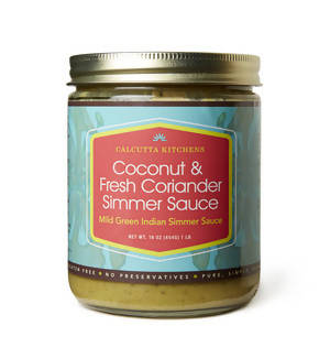 Coconut and Fresh Coriander Simmer Sauce - 6 x 16 oz