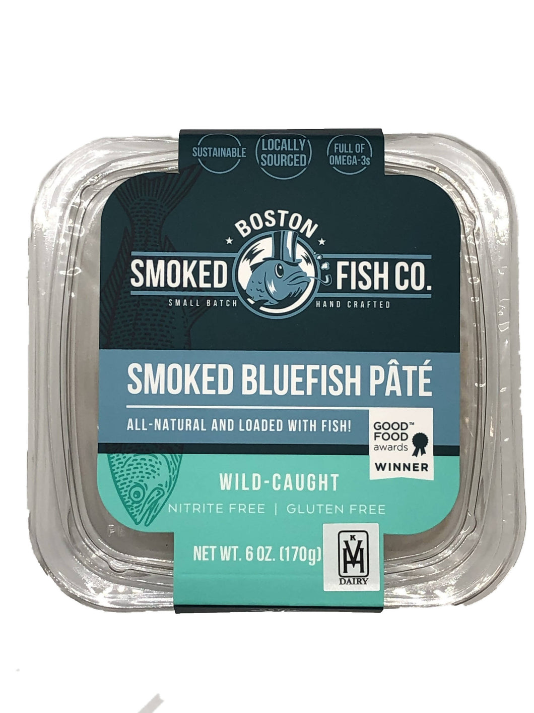 Smoked Bluefish Pâté - 12 x 6 oz