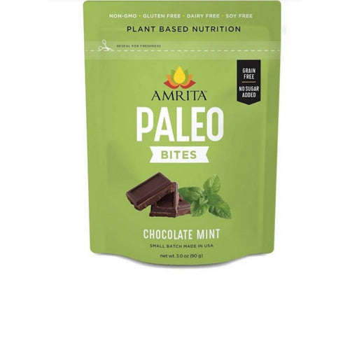 Farm2Me - pantry - Amrita Health Foods - Chocolate Mint Paleo Bites - 3 x 3 oz - Chocolate Mint Paleo Bites - 3 x 3 oz -