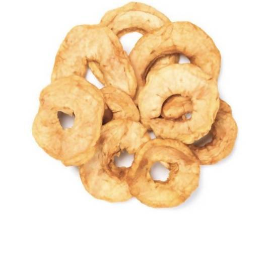 Farm2Me - pantry - Amrita Health Foods - Dried Apple Rings (Unsulfured) - 8oz - Dried Apple Rings (Unsulfured) - 8oz -