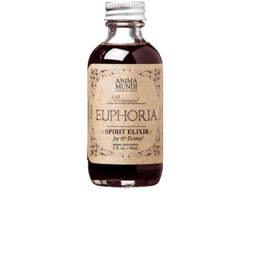 Farm2Me - Health & Home - Anima Mundi Apothecary - Euphoria : Spirit + Love Elixir Bottle - 2 x 4oz - Euphoria : Spirit + Love Elixir Bottle - 2 x 4oz - 852668005008