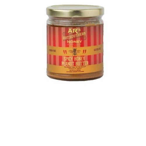 Farm2Me - Pantry - AR's Hot Southern Honey - Spicy Honey Peanut Butter - 12 x 8.5oz - Spicy Honey Peanut Butter - 12 x 8.5oz - 858158007200