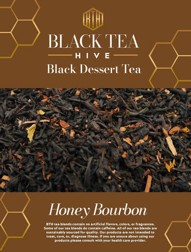 Farm2Me - Drinks - Black Tea Hive - Honey Bourbon Tea Pouches - 6 x 2oz - Honey Bourbon Tea Pouches - 6 x 2oz - HB0012021