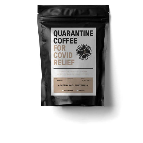 Farm2Me - Beverage - Connect Roasters - Quarantine Coffee Beans (Medium Roast) - 12 x 12 oz - Quarantine Coffee Beans (Medium Roast) - 12 x 12 oz - 602573961940