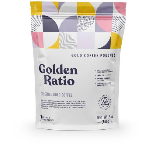Farm2Me - Beverage - Golden Ratio Coffee - Original Gold Coffee Pouch - 6 pouches x 7-pack - Original Gold Coffee Pouch - 6 pouches x 7-pack -